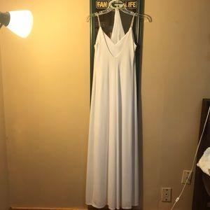 Jump Dresses - White prom dress